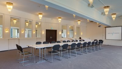 Conference room for meetings block Theodor Storm Hotel des Nordens